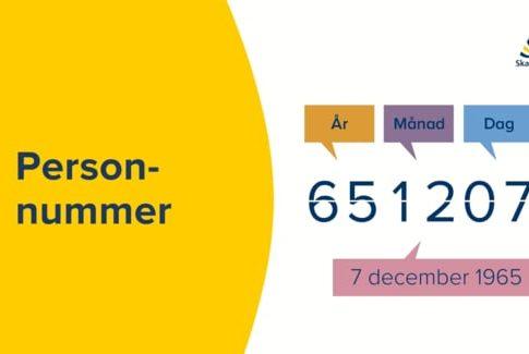 Personnummer et carte d'identité
